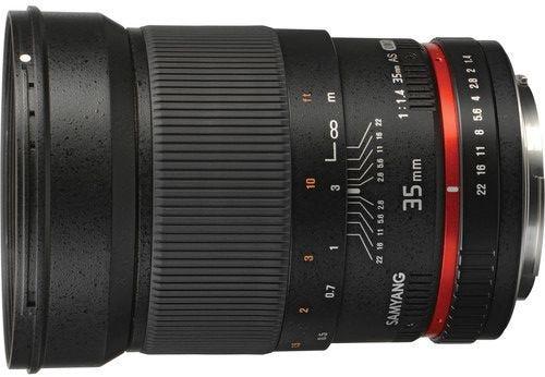 Samyang 35mm f/1.4 Canon EOS Full Frame Lens