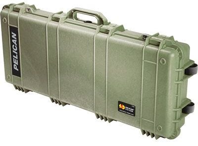 Pelican 1700 Olive Green Case with Foam
