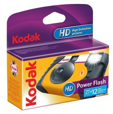 Kodak Power Flash 35mm 27+12 Exposure - Disposable Film Camera