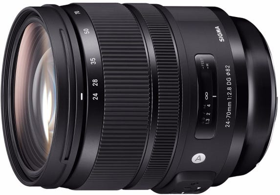 Sigma 24-70mm f/2.8 DG OS HSM Art Series Lens - Canon
