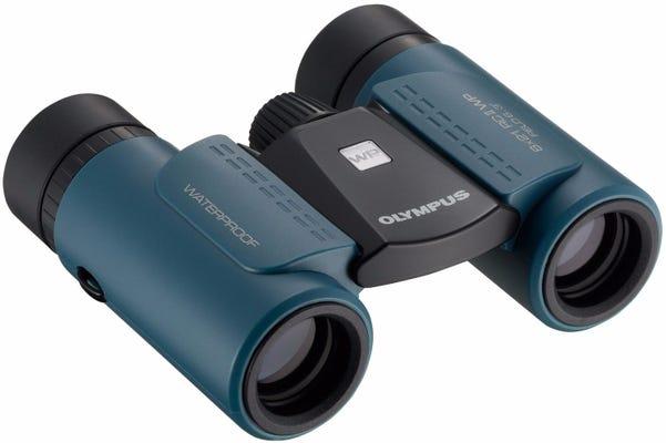 Olympus 8x21 RC II Waterproof Blue Binocular