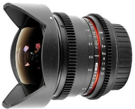 Samyang 8mm T3.8 Fisheye UMC II CINE - Canon EF APS-C