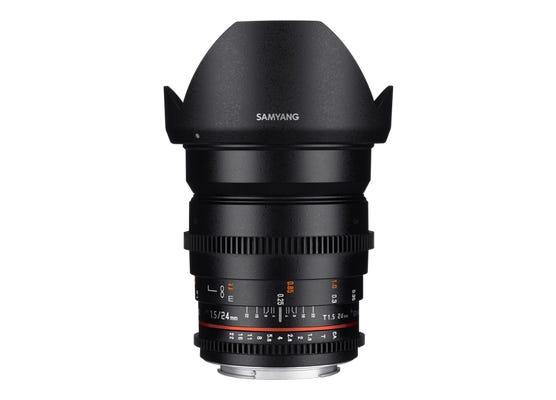 Samyang 24mm T1.5 VDSLR UMC II MFT Full Frame Lens