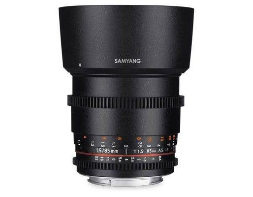 Samyang 85mm T1.5 VDSLR UMC II MFT Full Frame Lens