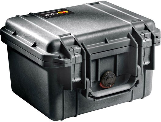Pelican 1300 Black Case