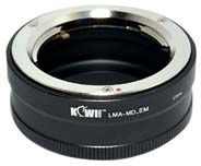 Kiwi Mount Adapter - Minolta MD Lens - Sony E Camera LMA-MD_EM