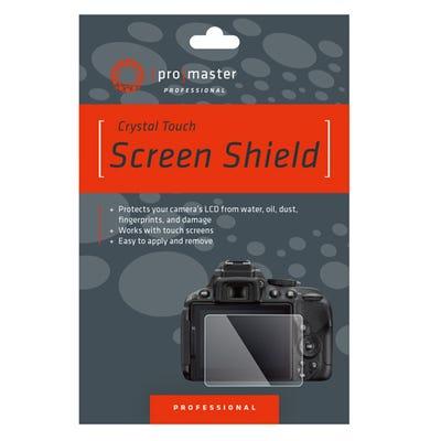 ProMaster Crystal Touch Screen Shield - Olympus E-M10 E-M10II E-M1 E-PL8 E-PL7 E-P5