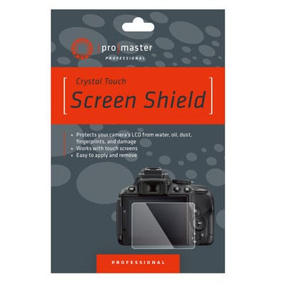 ProMaster Crystal Touch Screen Shield - Canon 6DMKII, 90D, 80D, 70D