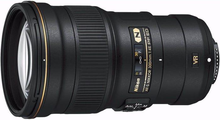 Nikon AF-S 300mm f/4E PF ED VR Telephoto Lens