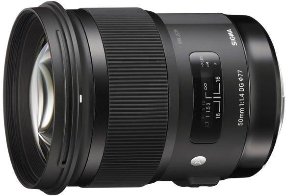 Sigma 50mm f/1.4 DG HSM Art Series Lens - Sony E-Mount