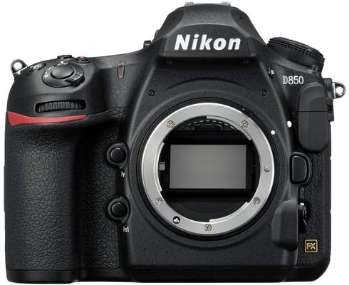 Nikon D850 Body Black Digital SLR Camera