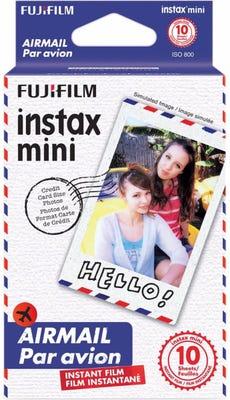 Fujifilm Instax Mini - Airmail Instant Film (10 Sheets)