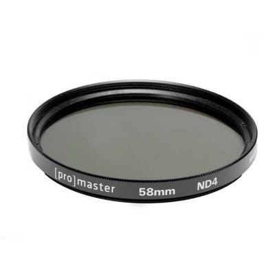 ProMaster ND4X Standard 58mm Filter
