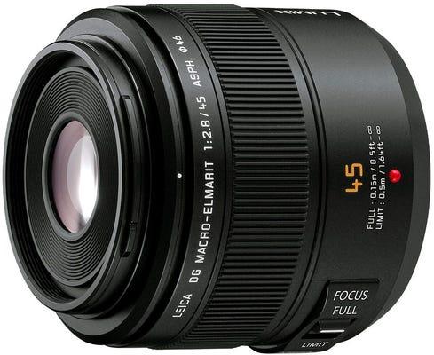 Panasonic Leica DG Macro Elmarit 45mm f/2.8 ASPH MEGA OIS Lens