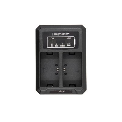 ProMaster Dually Charger - USB - Canon LP-E6N