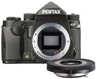 Pentax K-P Black w/DA 40mm f/2.8 XS Lens Digital SLR Camera