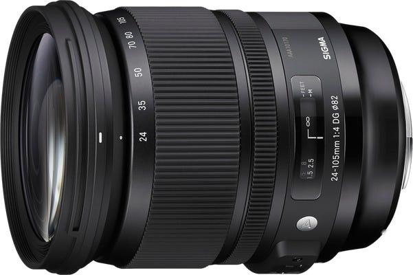 Sigma 24-105mm f/4 DG OS HSM Art Series Lens - Nikon