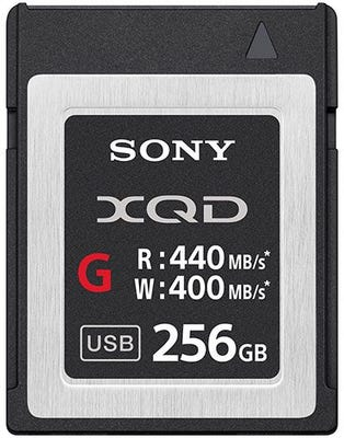 Sony XQD G Series 256GB E Memory Card
