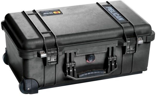 Pelican 1510 Black Laptop Case with Foam
