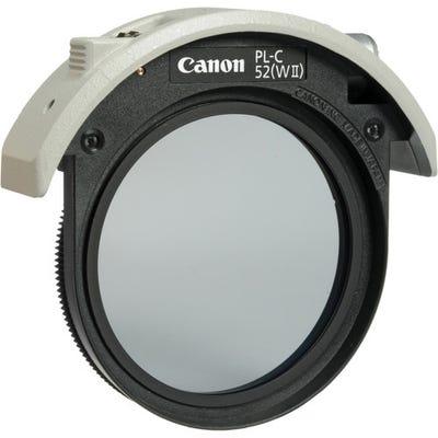 Canon 52PLCWII Drop-in Circular Polarizing Filter