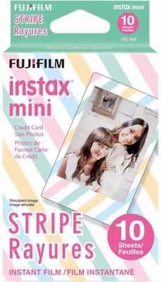 Fujifilm Instax Mini - Stripe Instant Film (10 Sheets)