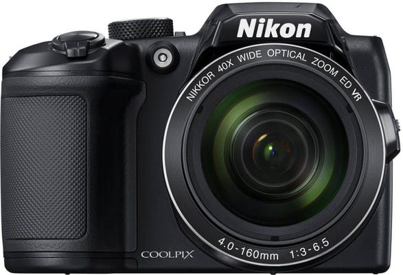 Nikon Coolpix B500 Black Digital Compact Camera