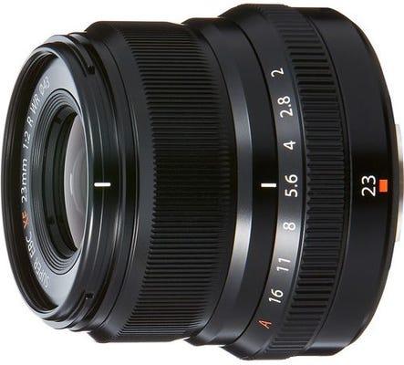 Fujifilm XF 23mm f/2 R WR Black Lens