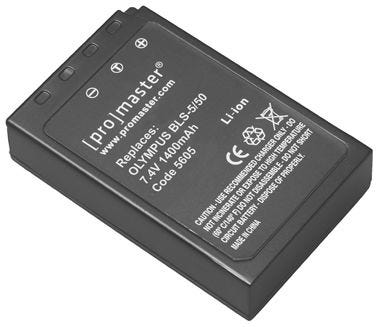 ProMaster Olympus BLS-5/BLS-50 Battery
