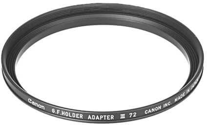 Canon 4-72 Gelatin Filter Holder Adaptor