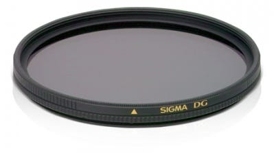 Sigma Circular Polarising EX DG 49mm Filter