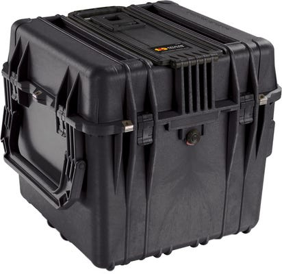 Pelican 350 Black Cube Case with Divider