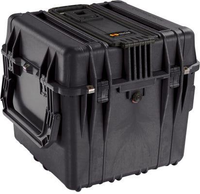 Pelican 350 Black Cube Case with Foam