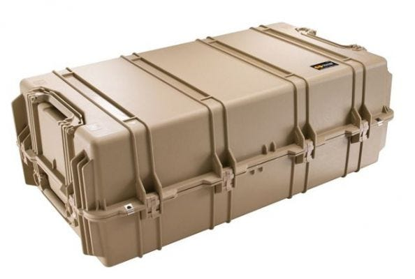 Pelican 1780W Desert Tan HardLiner Weapons Case