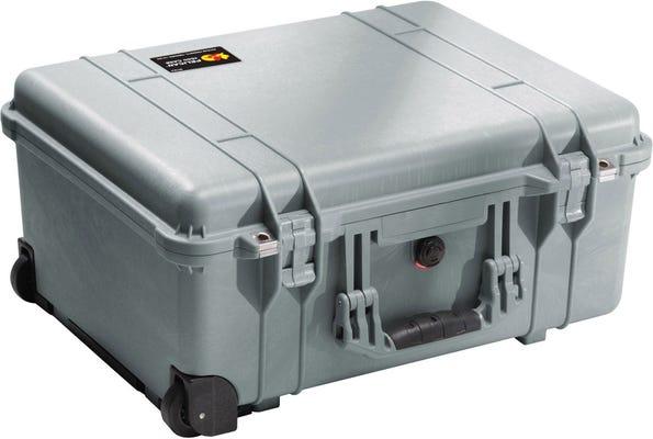 Pelican 1560 Silver Case