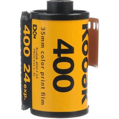 Kodak GC UltraMax 400 ISO 35mm 24 Exposure - Colour Negative Film