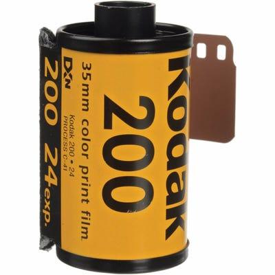 Kodak GB Gold 200 ISO 35mm 24 Exposure - Colour Negative Film