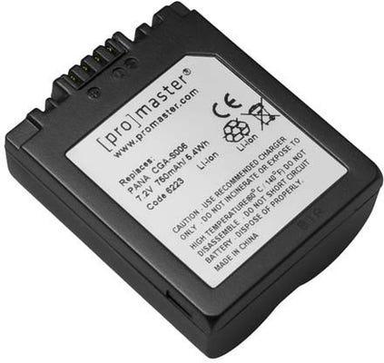 ProMaster Panasonic CGA-S006 Battery