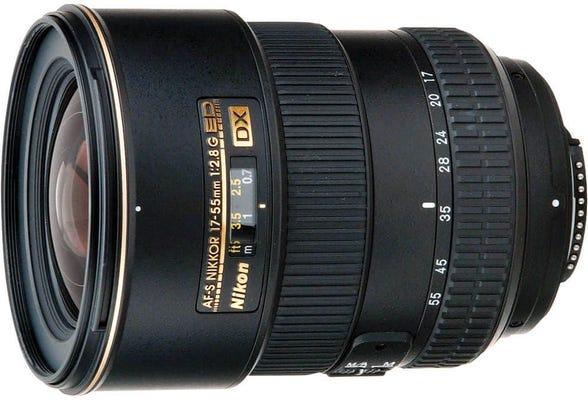 Nikon AF-S DX 17-55mm f/2.8G IF ED Lens
