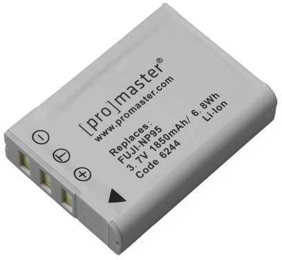 ProMaster Fujifilm NP-95 Battery