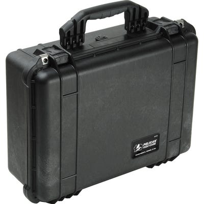 Pelican 1526 Black Case with Convertible Bag