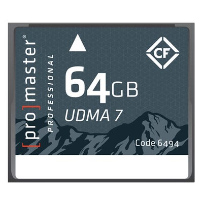 ProMaster CompactFlash Rugged 64GB 1066X 160MB/s Professional Memory Card