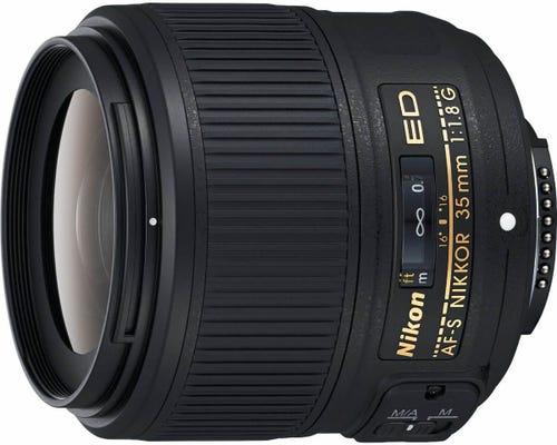 Nikon AF-S FX 35mm f/1.8G Lens