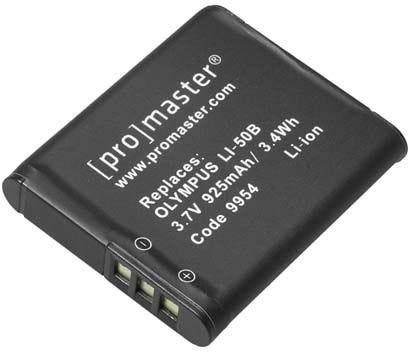 ProMaster Olympus D-LI50 Battery
