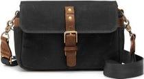 ONA Bowery Camera Bag Waxed Canvas - Black