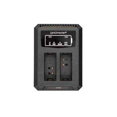 ProMaster Dually Charger - USB - Canon LP-E12