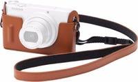 Fujifilm XQ1 Brown Leather Case