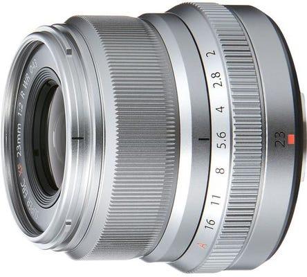 Fujifilm XF 23mm f/2 R WR Silver Lens