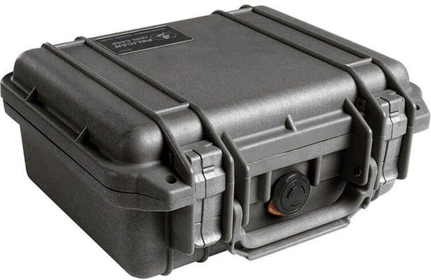 Pelican 1200 Black Case with Foam
