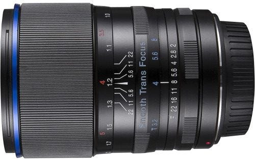 Laowa 105mm f/2 Smooth Trans Focus Lens - Canon EF