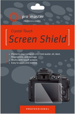 ProMaster Crystal Touch Screen Shield - Canon 200D